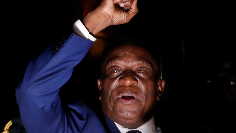 Zimbabwe's next president returns from exile