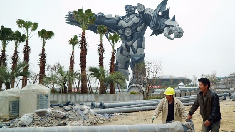 China's first V.R. theme park brings a vision for growth