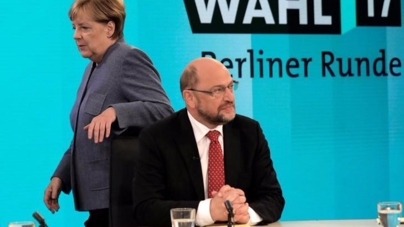 German edges toward new grand coalition