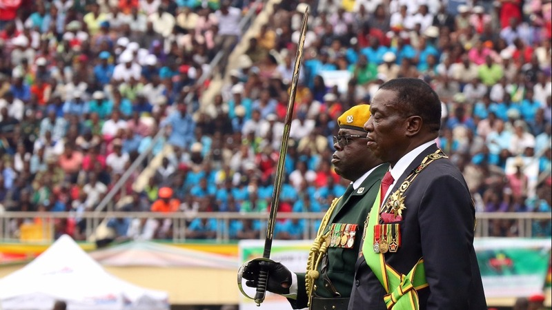 New president vows to serve all Zimbabweans