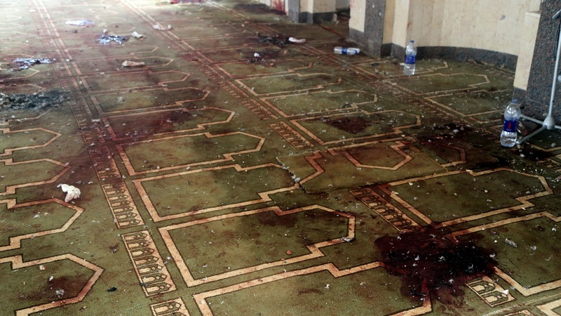 Gunmen in Egypt mosque attack carried ISIS flag