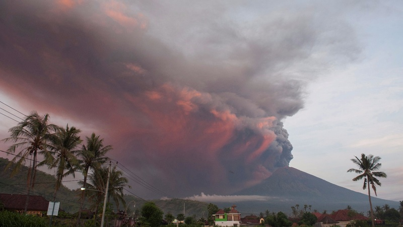 INSIGHT: Bali volcano activity prompts 'red warning'