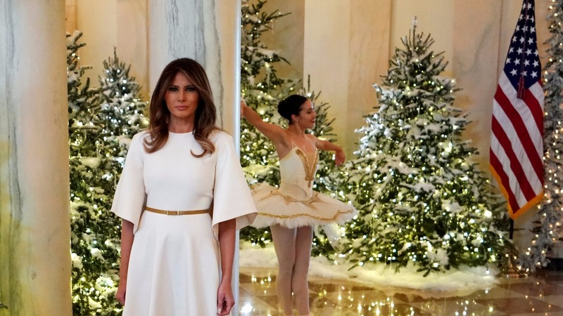 INSIGHT: First Lady feels the Christmas spirit