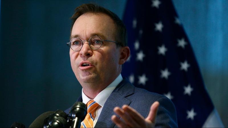 VERBATIM: Mulvaney declares hiring freeze at Consumer Bureau