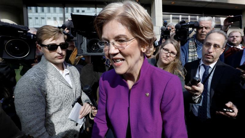 VERBATIM: Warren vows to fight for consumer agency