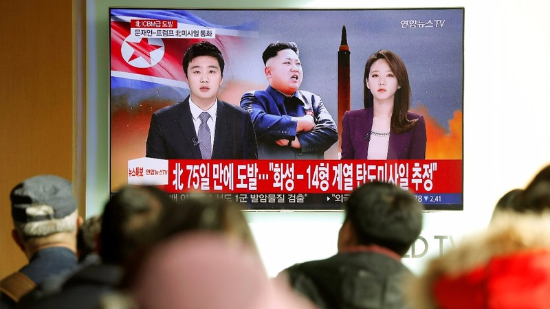 Seoul springs into action after North Korea missile launch