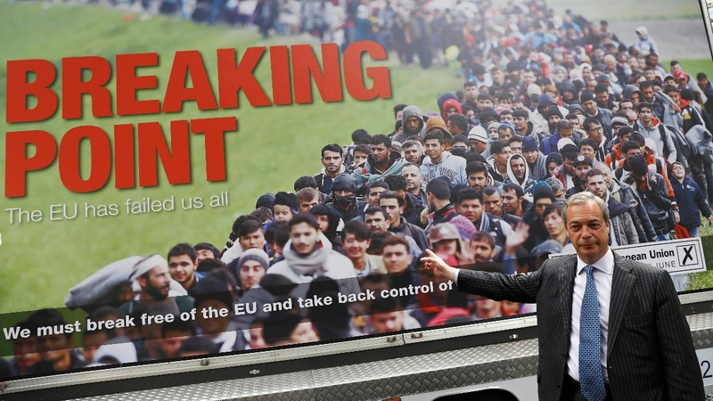 UK net migration tumbles after Brexit vote
