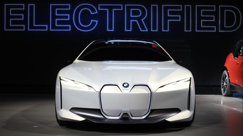 At the LA Auto show, electric cars and SUVs dominate