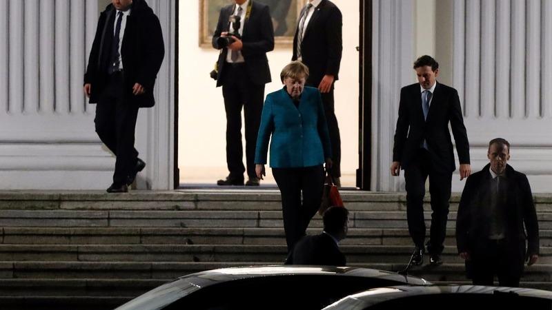 German parties tight lipped on coalition talks