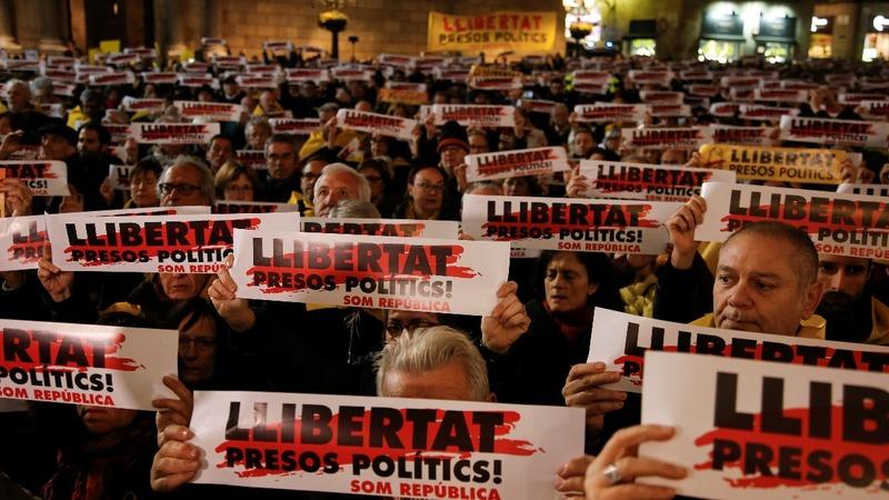 Spain refuses bail for former Catalan leaders ahead of vote