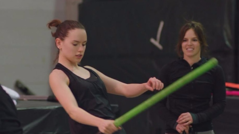 INSIGHT: 'Star Wars' cast practice stunts