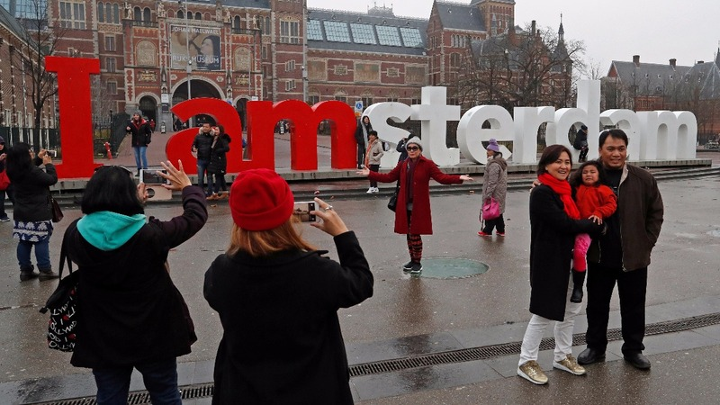 Amsterdam's tourist boom angers the locals
