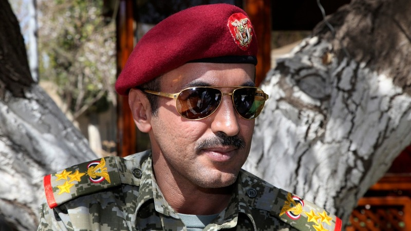 Son of slain Yemeni ex-leader demands revenge