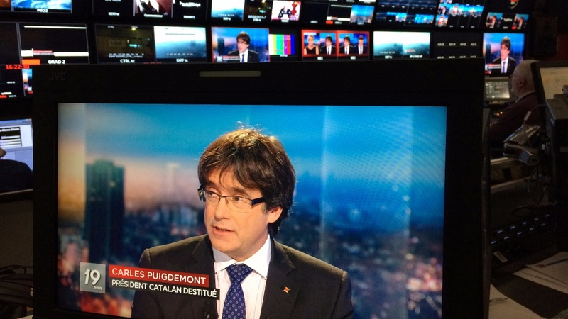 Spain withdraws international warrant for ex-Catalan leader