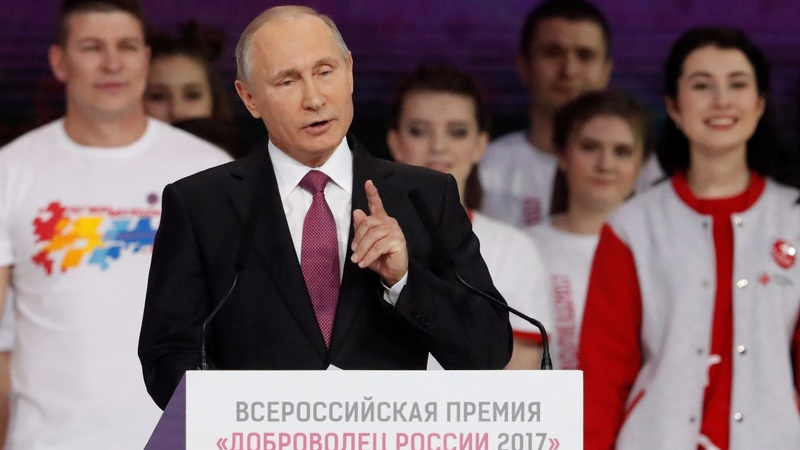Putin to seek another term as Russia's president