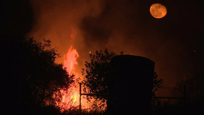 Third fire erupts in California, state of emergency declared