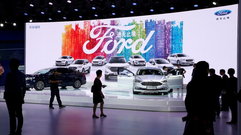 Alibaba and Ford explore new retail opportunities in China