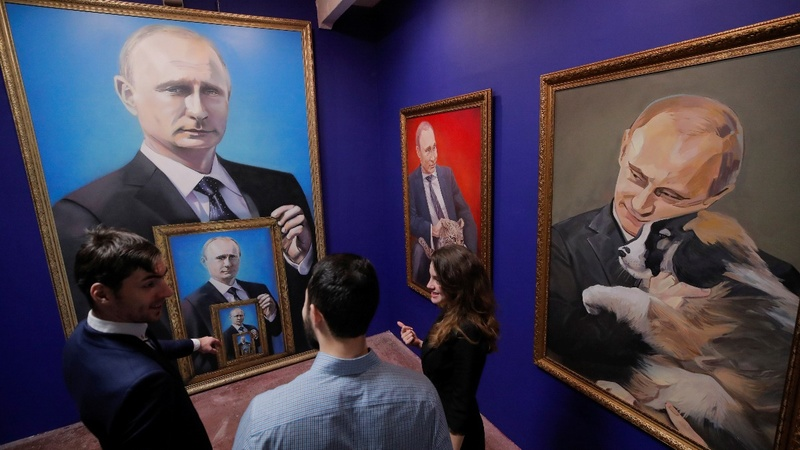 Fifty shades of Putin: Vladimir's pop art makeover