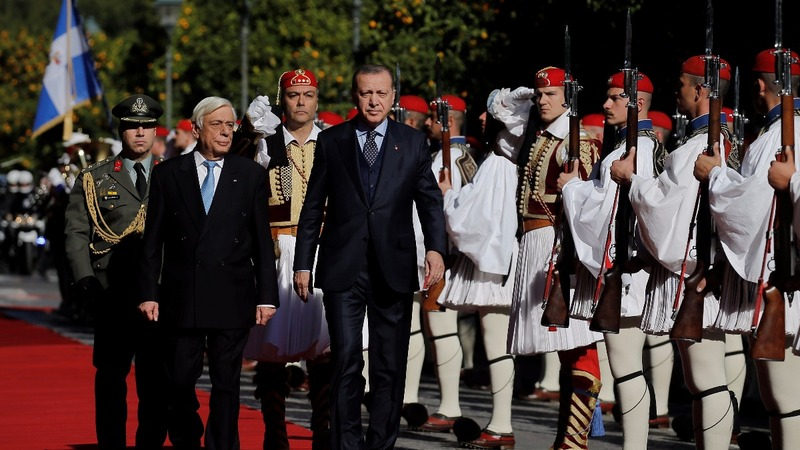 After 65-year wait, a Turkish leader visits Greece
