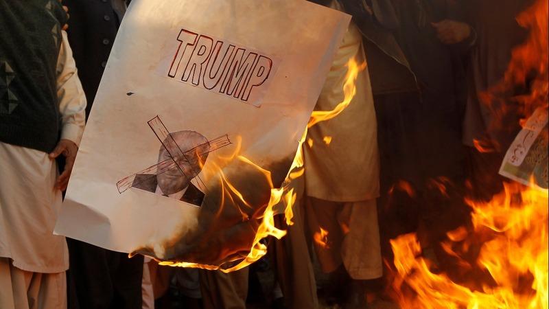 Arabs, Europe, U.N. reject Trump's Jerusalem move