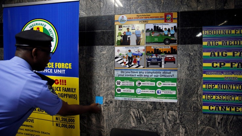 Nigerians accuse police unit of brutality