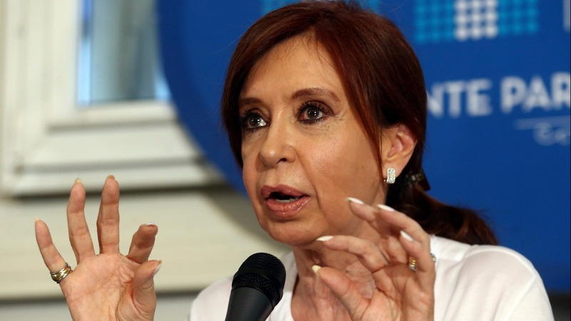Argentina's Fernandez indicted for treason