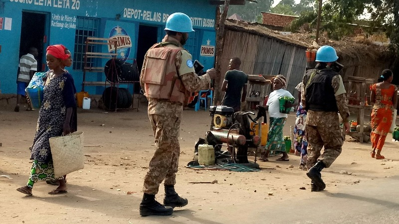14 U.N. peacekeepers killed in DRC