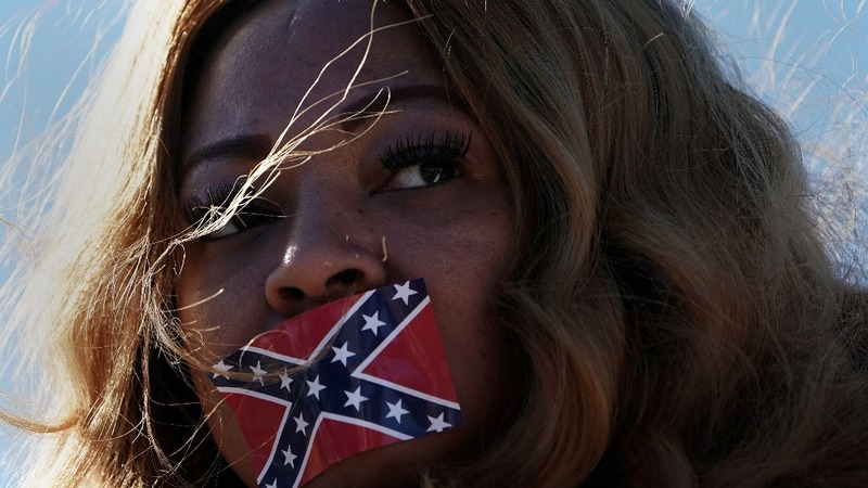 Protests greet Trump at Mississippi Civil Rights Museum