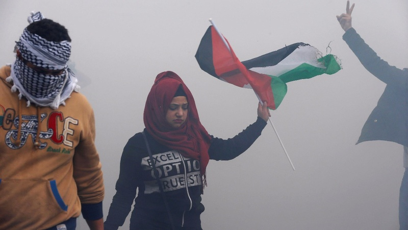 Palestinian stabs Israeli in Jerusalem as protests flare