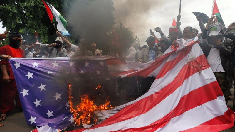 INSIGHT: Indonesians protest Trump's Jerusalem move