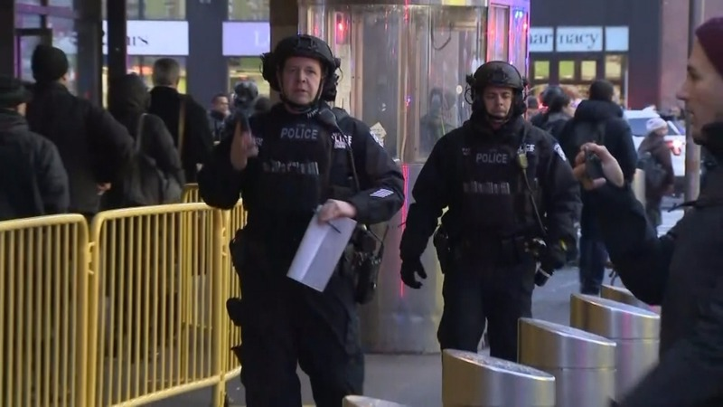 Police respond to explosion in New York City