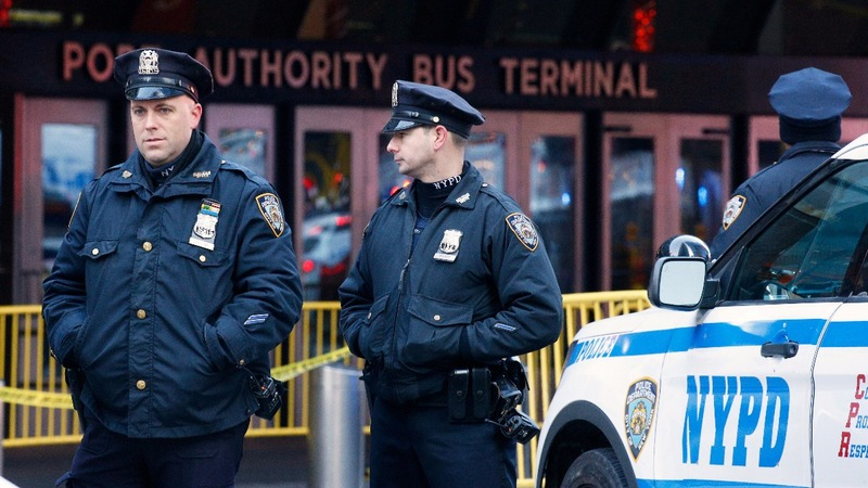 One person in custody after home-made bomb explodes in NYC
