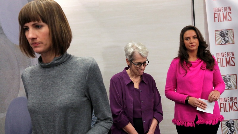 3 Trump accusers call for accountability