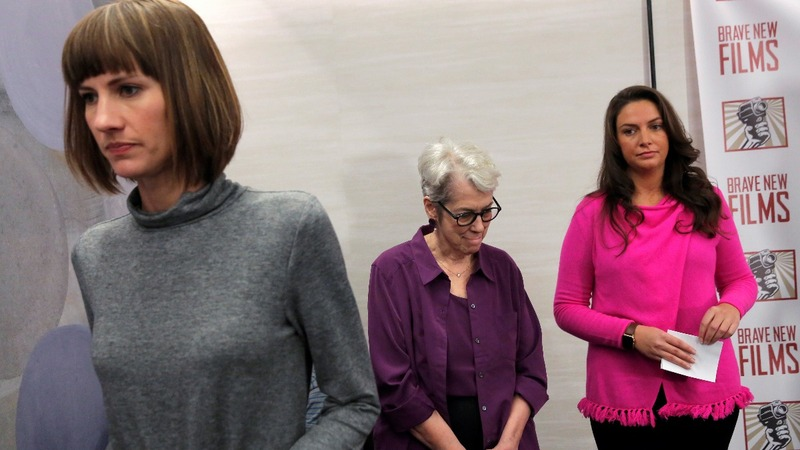 Three Trump accusers call for accountability
