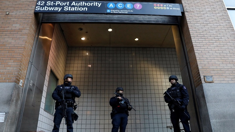 NYC attack shows limits of subway safety