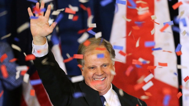 Alabama Democrat wins stunning Senate upset