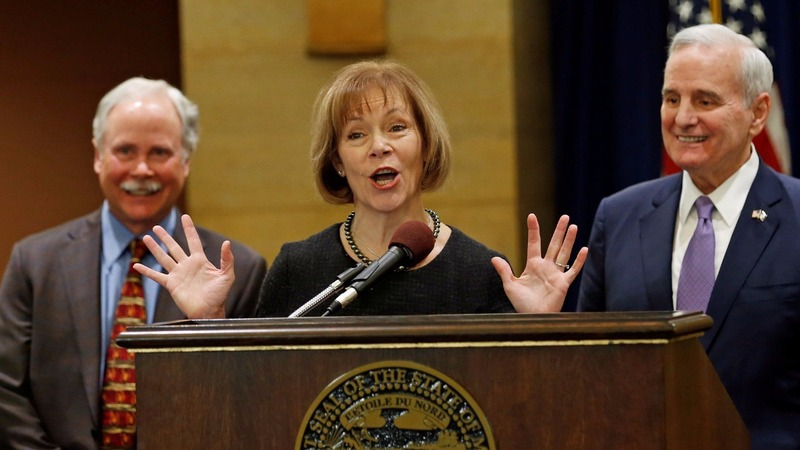Minnesota Lt Governor Tina Smith to replace Franken