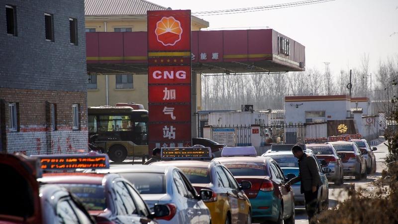 China's gas shortage hits industrial heartland