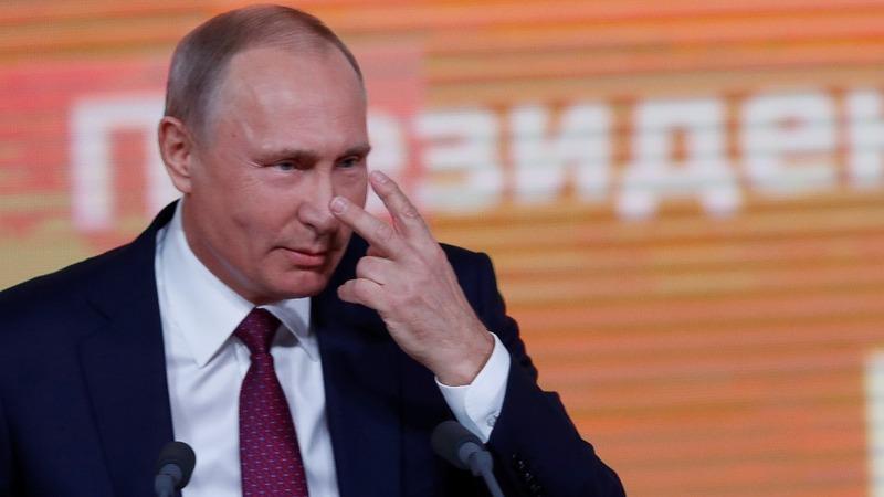 Putin: U.S. gripped by fabricated spymania