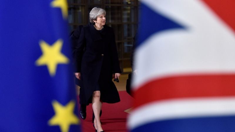 Theresa May says she's on course for Brexit