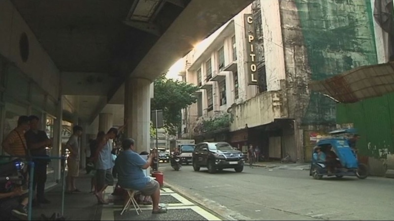 Artists draw attention to Manila's historic landmarks