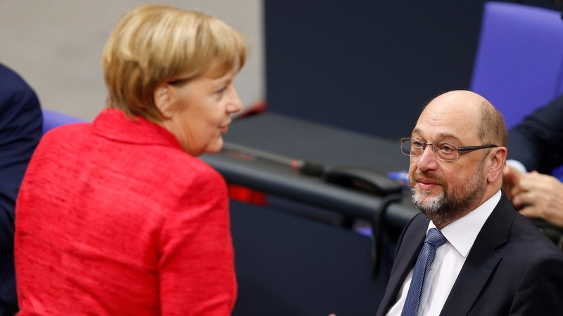 Relief for Merkel as Germany's SPD agrees to talks