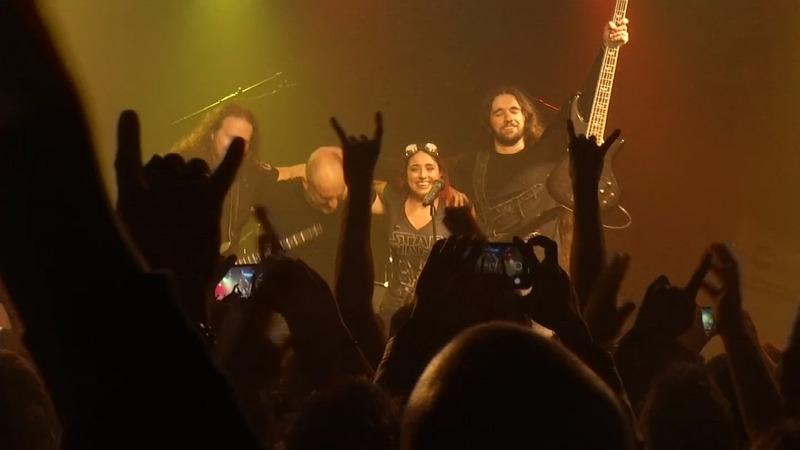 INSIGHT: U.S. heavy metal band rocks Catalan anthem