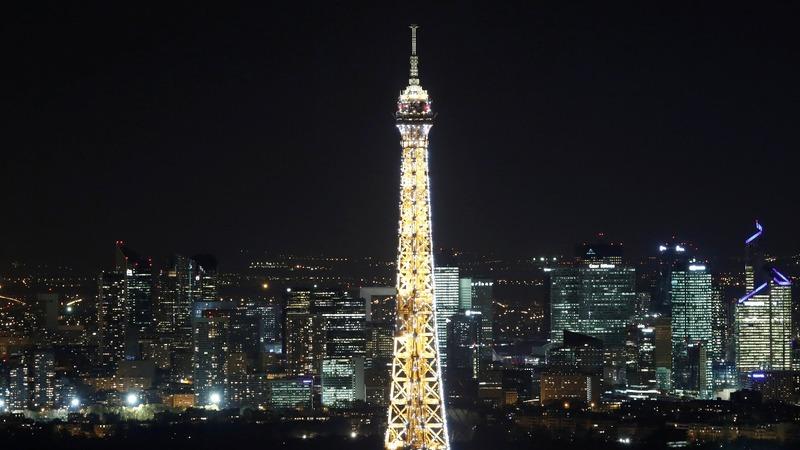 INSIGHT: Paris' Eiffel Tower gets festive