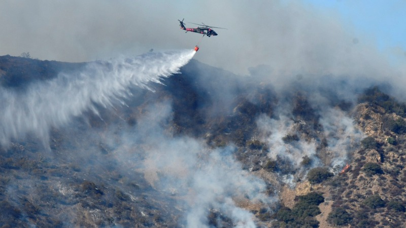 'Thomas Fire' becomes California's third largest on record