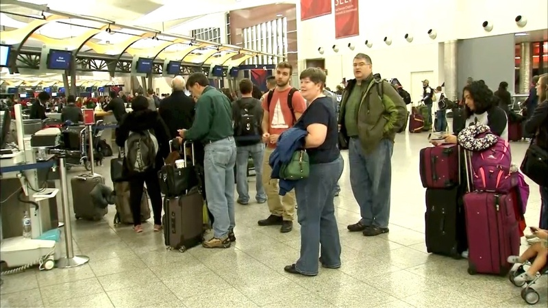 Power restored to Atlanta airport but canceled flights abound
