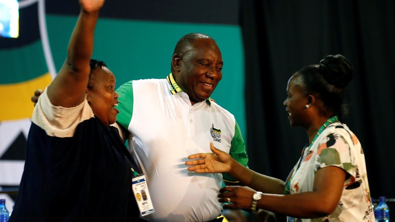 South Africa's ruling party votes for Zuma's heir