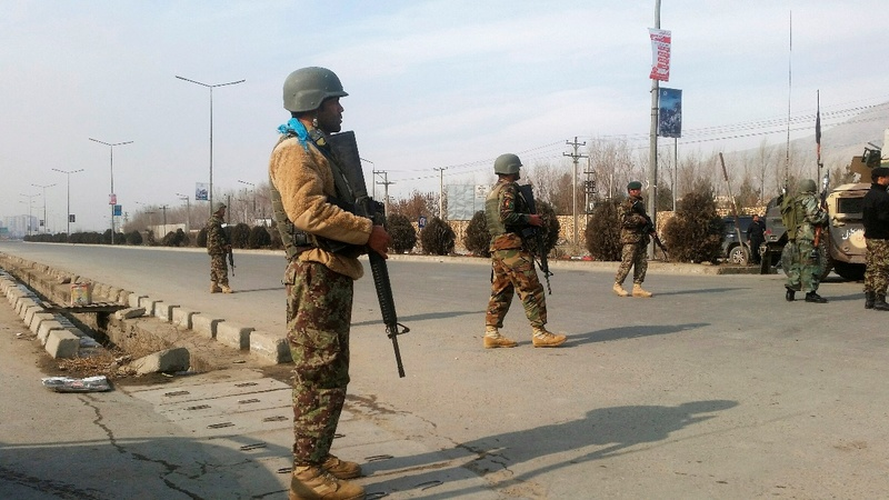 Gunmen attack security center in Afghan capital