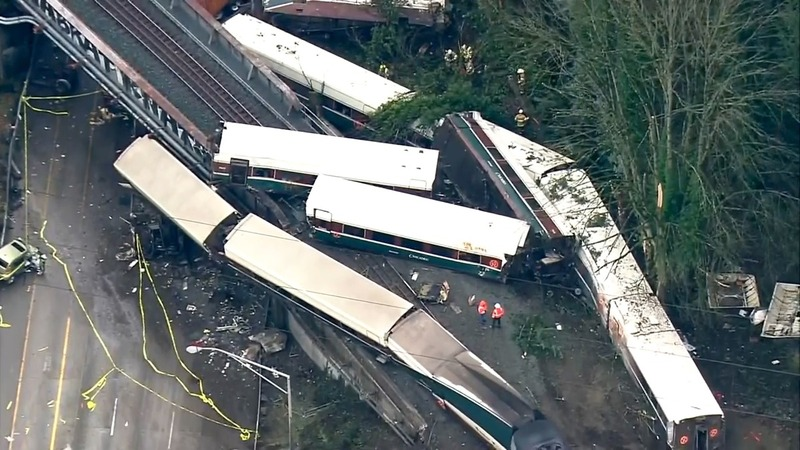 Deadly Amtrak train derailment in Washington state