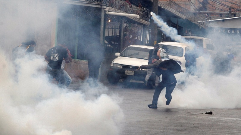 Protests hit Honduras capital over election recounts